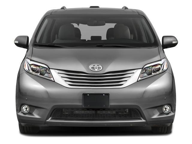 2017 Toyota Sienna Xle Premium >> 2017 Toyota Sienna Limited Premium