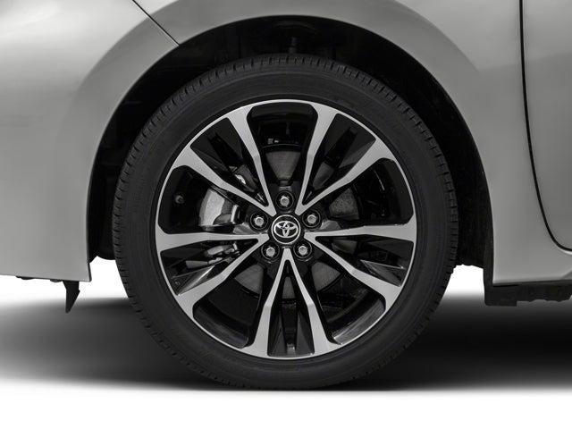 Toyota Corolla Tires >> 2018 Toyota Corolla Xse