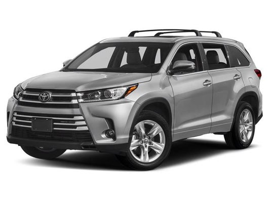 Toyota Highlander Limited >> 2019 Toyota Highlander Limited