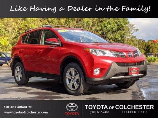 2015 Toyota Rav4 Xle Colchester Ct Area Toyota Dealer Serving Colchester Ct New And Used Toyota Dealership Serving Vernon Windham Glastonbury Ct