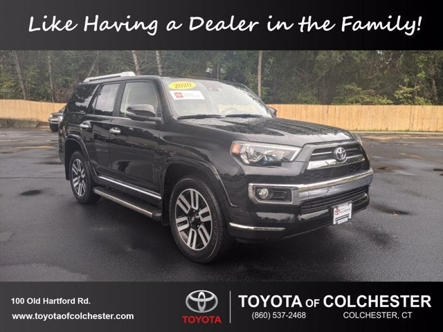 2020 Toyota 4runner Limited Toyota Dealer Serving Colchester Ct New And Used Toyota Dealership Serving Vernon Windham Glastonbury Ct
