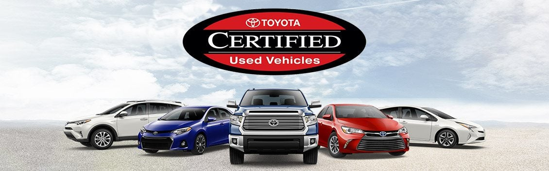 Toyota Certified Pre Owned >> Certified Pre Owned Vehicles In Ct Toyota Of Colchester